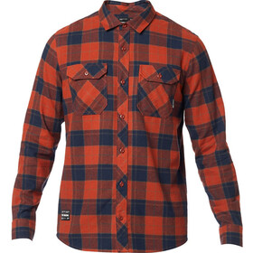 Fox Traildust 2.0 LS Flannel Shirt Men, adobe